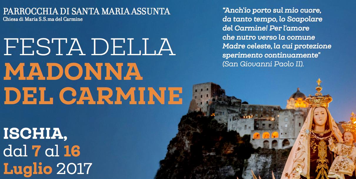 Madonna del Carmine 2017
